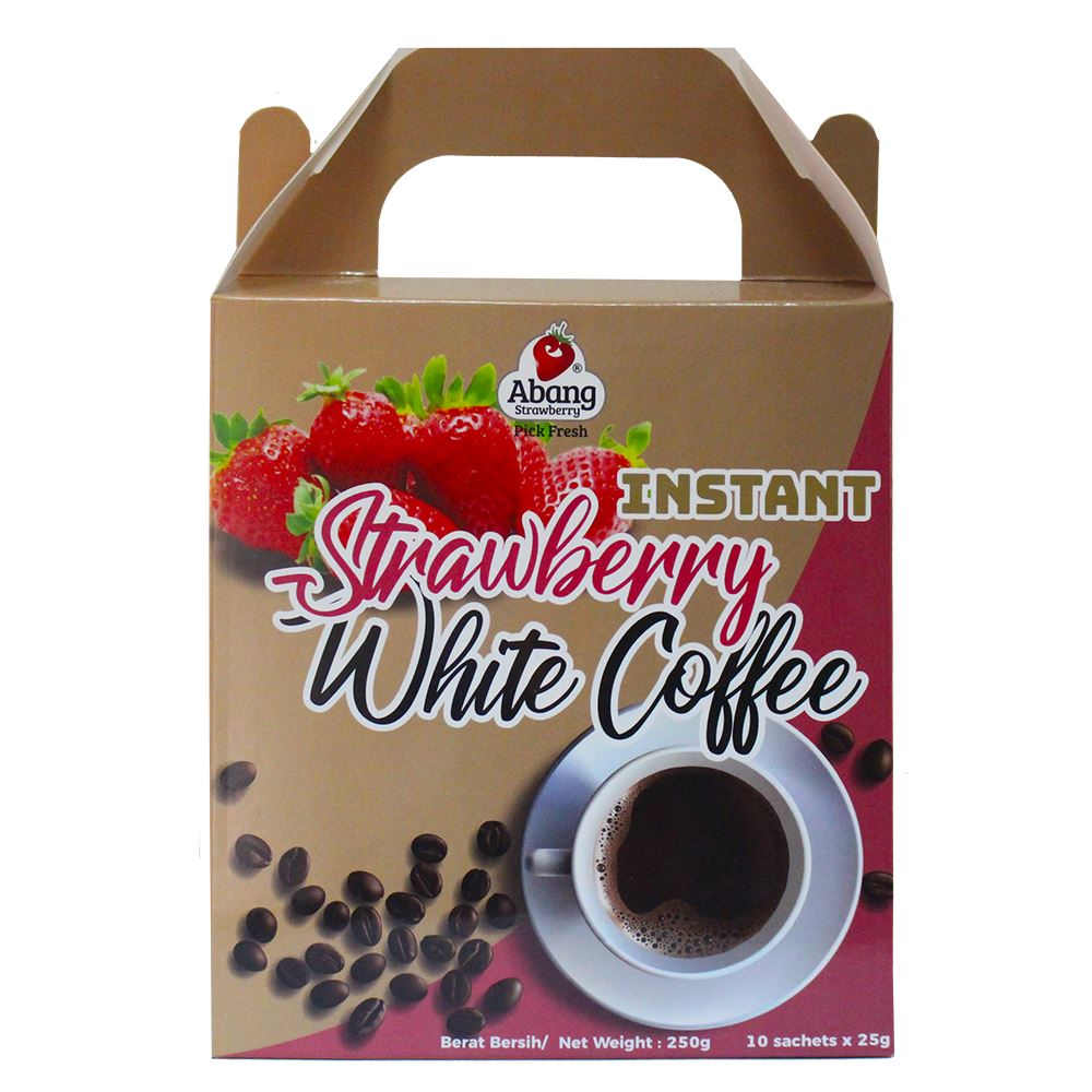 Strawberry White Coffee (10 sachet x 25g)