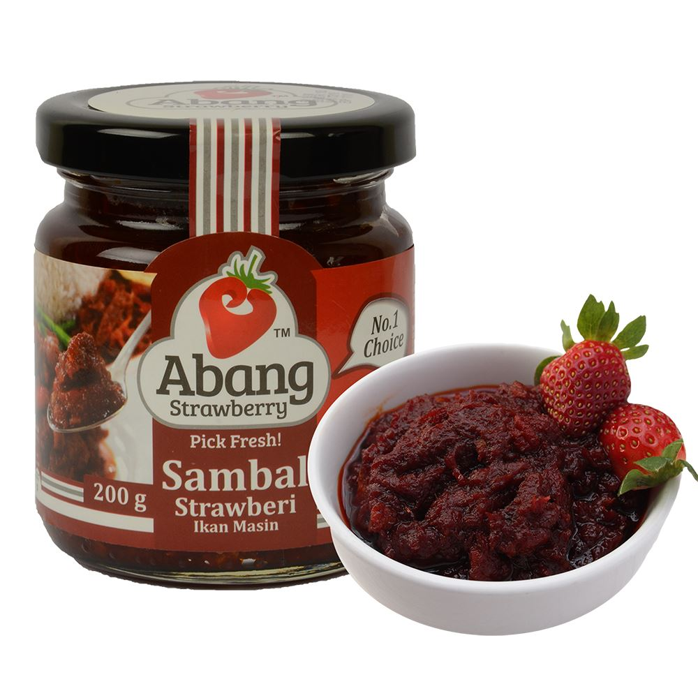 Sambal Strawberry Ikan Masin (Original)