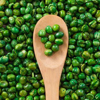 Salted Fried Peas