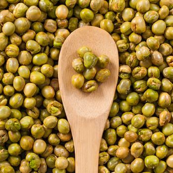 Salted Fried Green Peas