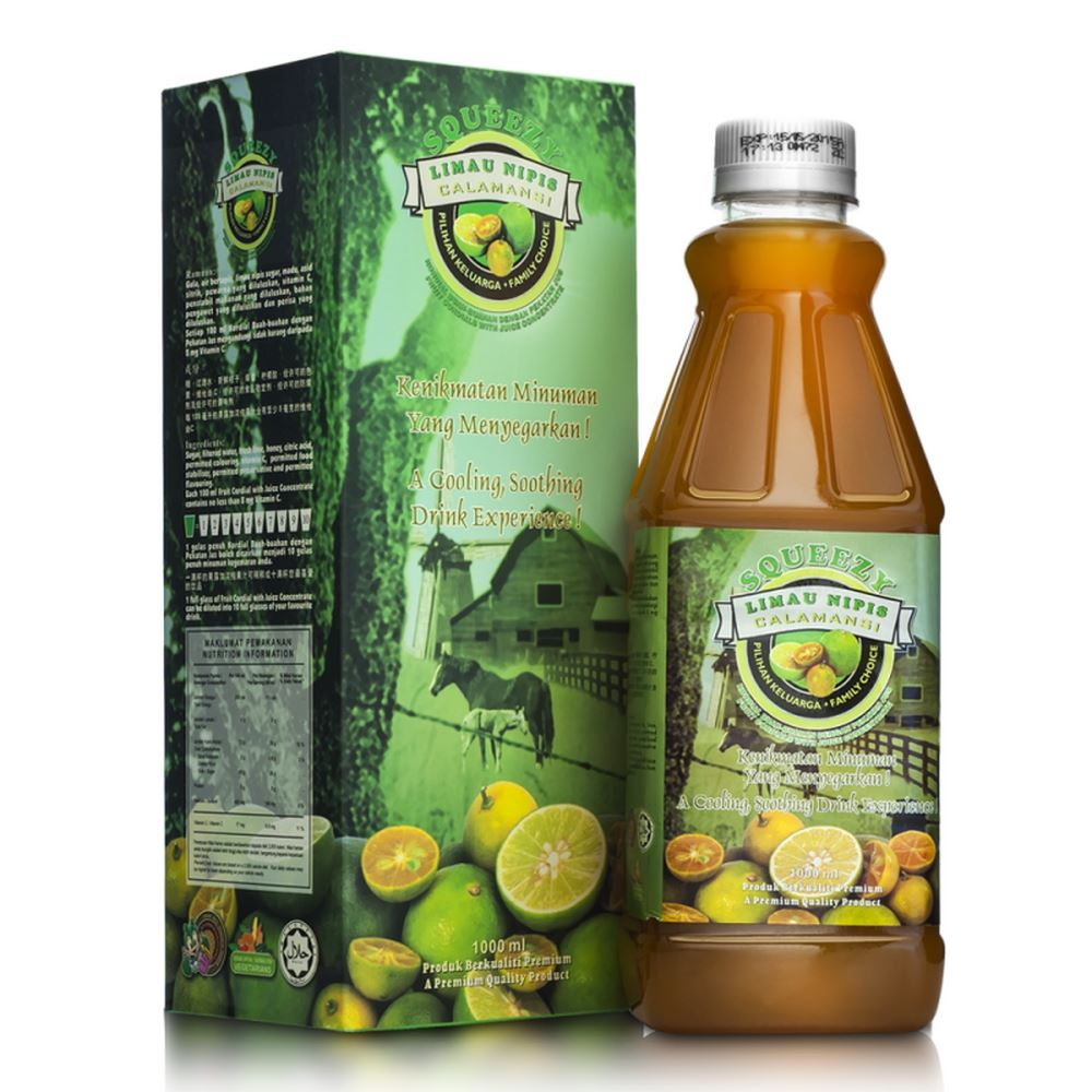 SQUEEZY Calamansi Cordial with Juice Concentrate