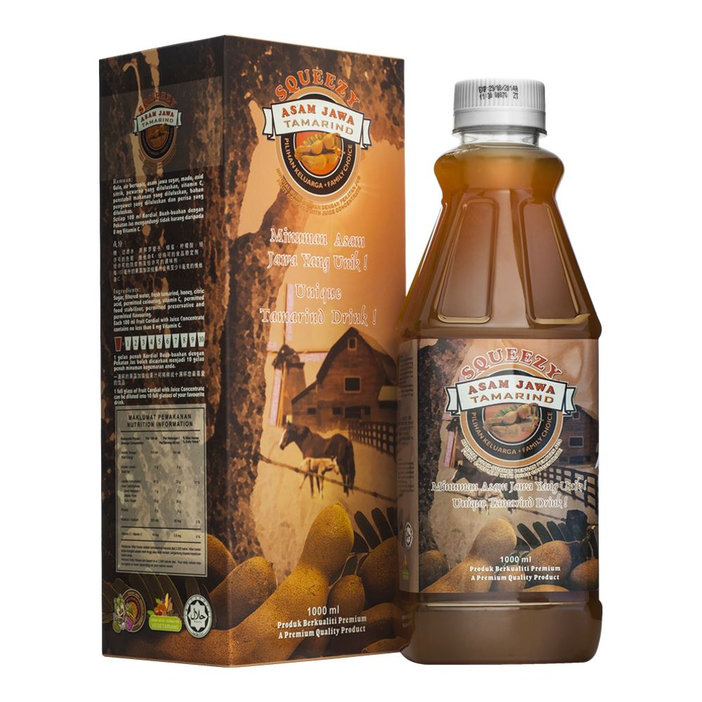 SQUEEZY Tamarind Cordial with Juice Concentrate