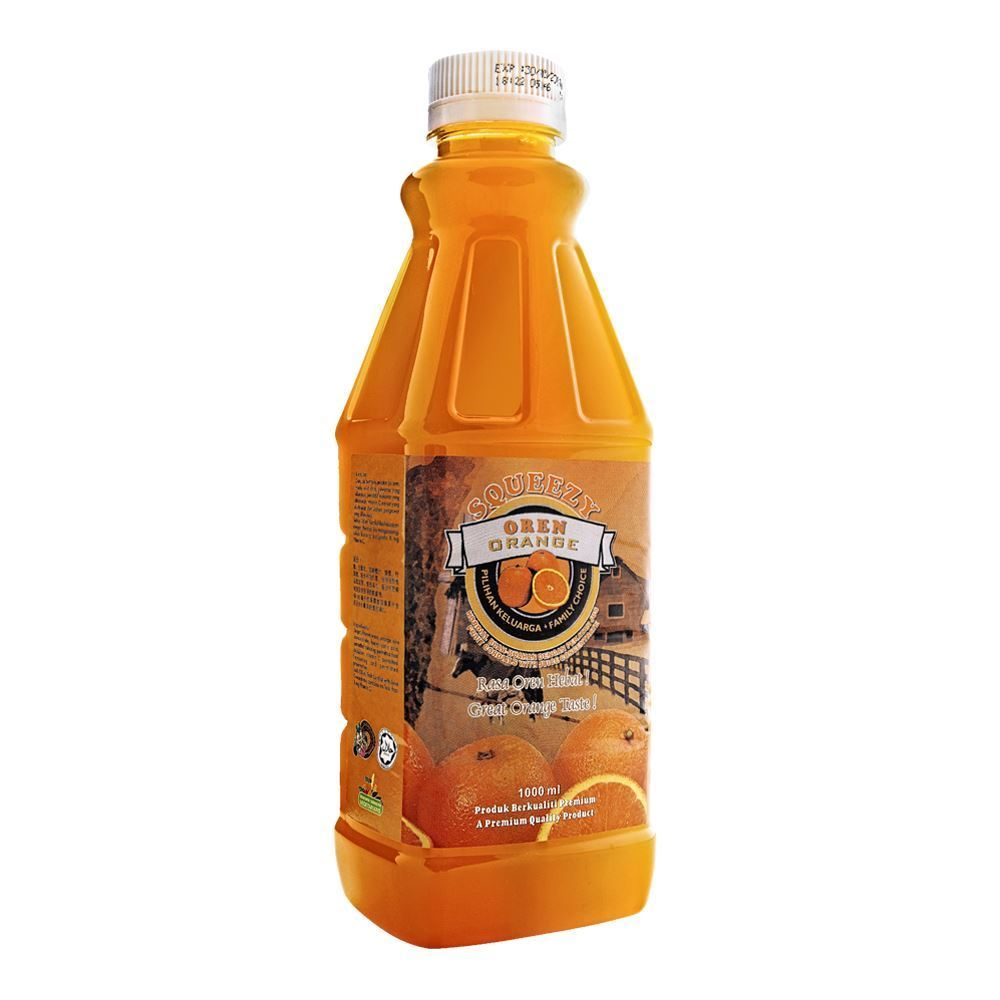 SQUEEZY Orange Cordial with Juice Concentrate