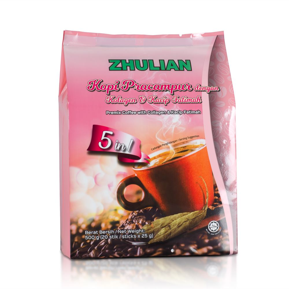 ZHULIAN Premix Coffee with Collagen & Kacip Fatimah
