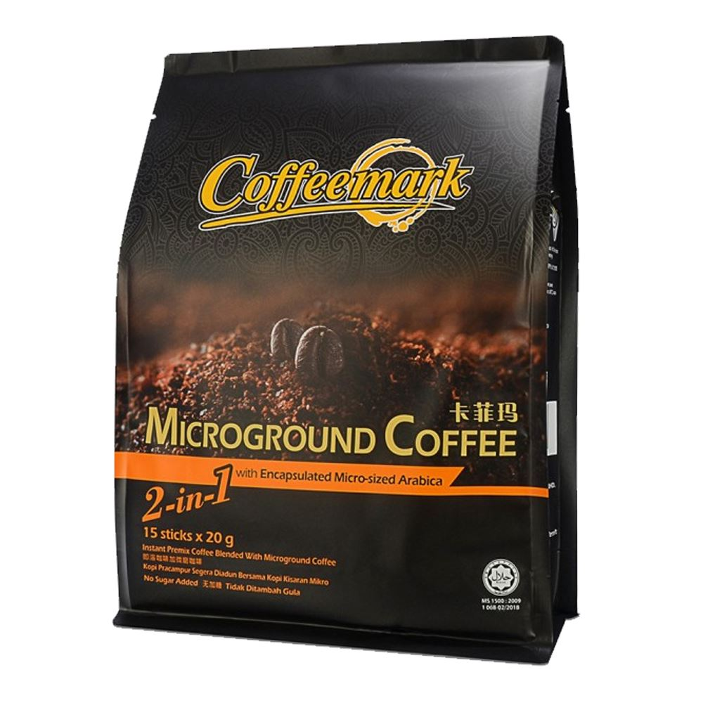 Coffeemark Microground Coffee 2 in 1