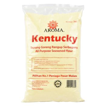 Aroma All Purpose Seasoned Flour Original (3kg) - For Food Service
