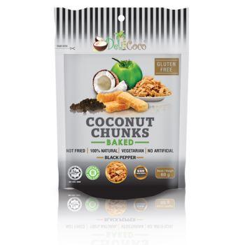 Black Pepper Coconut Chunks