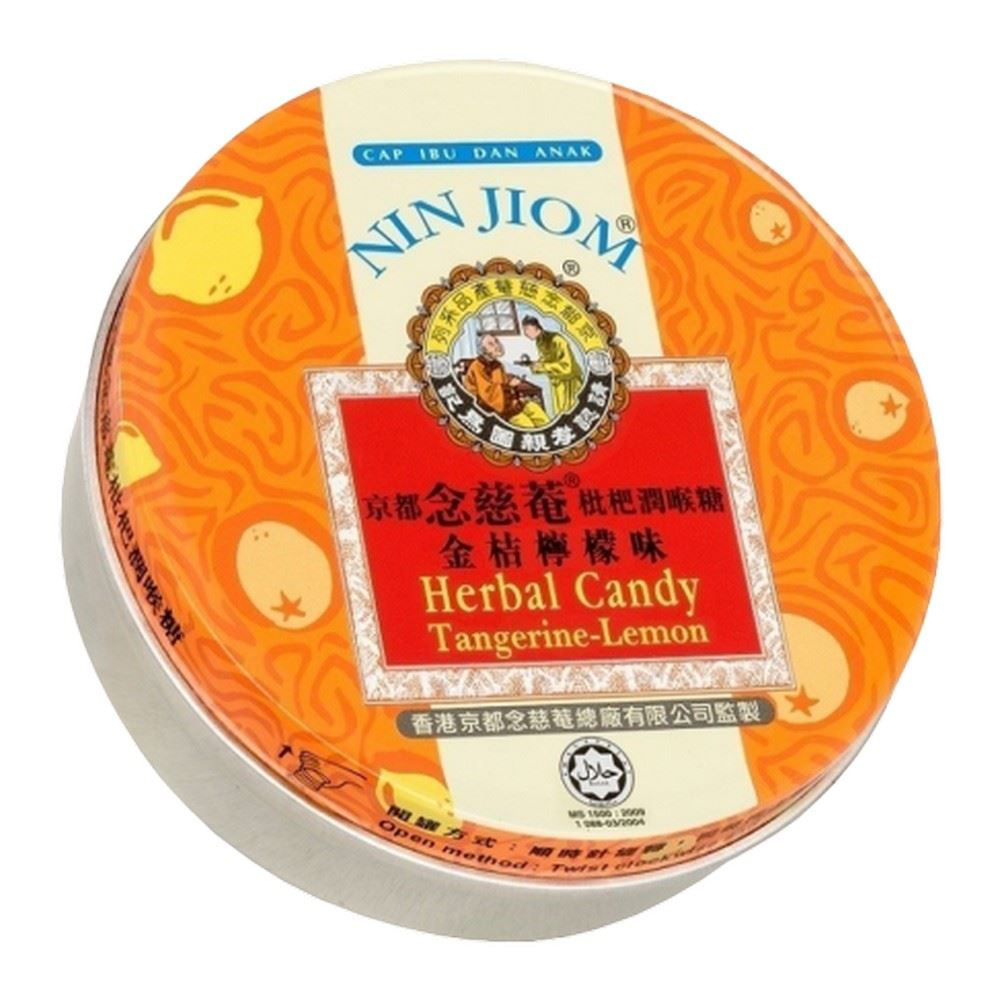 Nin Jiom Herbal Candy - Tangerine-Lemon (60g)