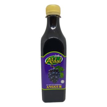 Afdal Grape Flavoured Beverage base Series