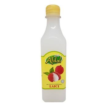 Afdal Lychee Flavoured Beverage Base Series