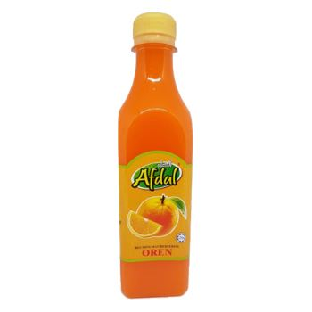 Afdal Orange Flavoured Beverage Base Series