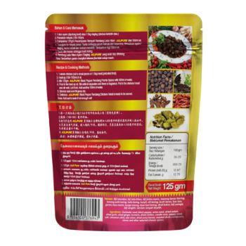 "Black Pepper ""Rendang"" Premix Spices"