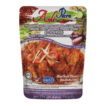 "Chicken / Meat ""Sambal"" Premix Spices"