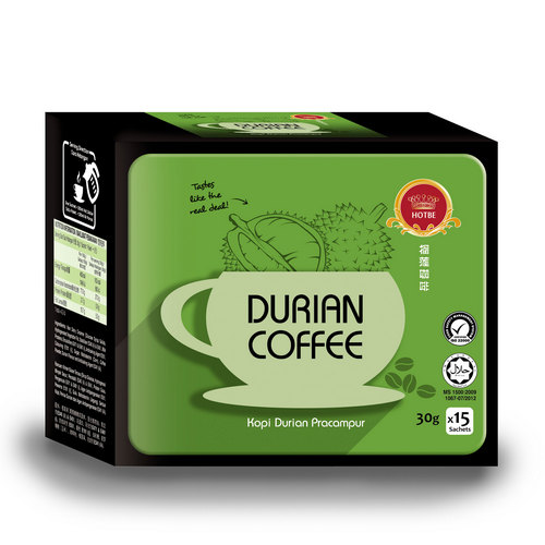 Hotbe Durian Coffee (30g x 15 sachets)