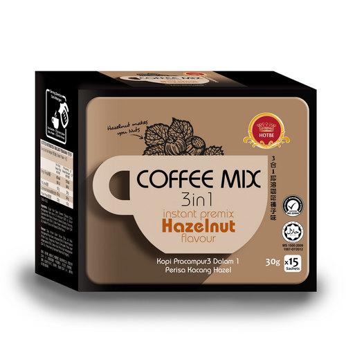 Hotbe Hazelnut Coffee (30g x 15 sachets)