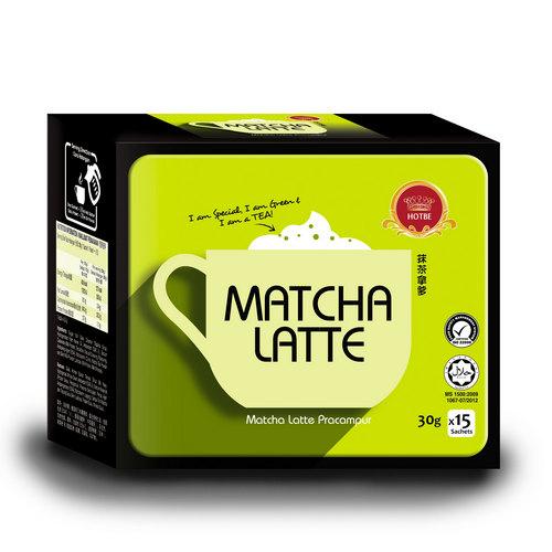 Hotbe Matcha Latte (30g x 15 sachets)