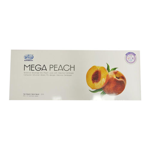 Insan Mega Peach (8g x 40 Sachets)