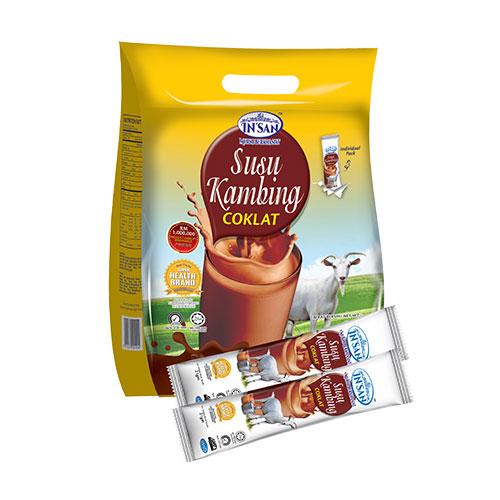 Insan Susu Kambing Coklat (21g X 15 Sachets)