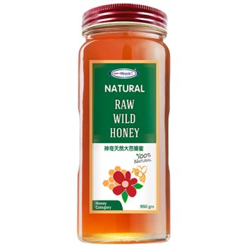 Miracle Natural Raw Wild Honey