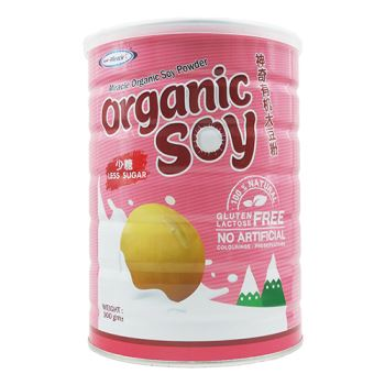 Miracle Organic Soy Milk Powder (less sugar)