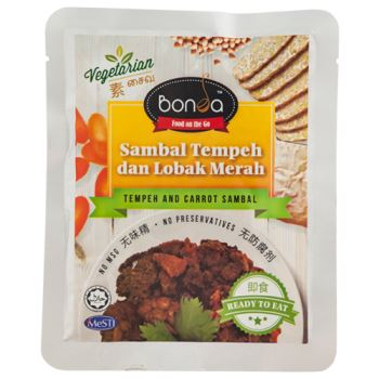 Tempeh And Carrot Sambal