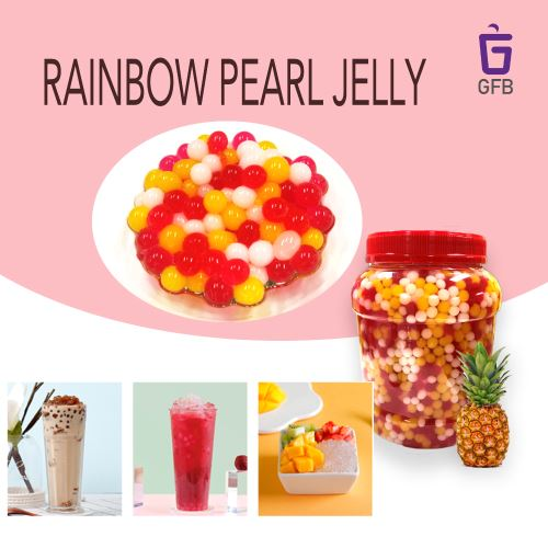 Rainbow Pearl Jelly