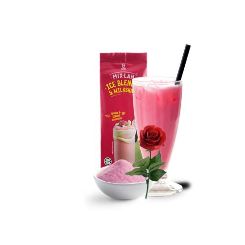 Rose Latte Milk Tea Powder