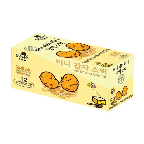 Mini Potato Stick (Box) - Honey Butter