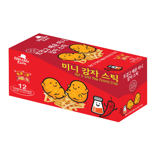 Mini Potato Stick (Box) - Hot & Spicy