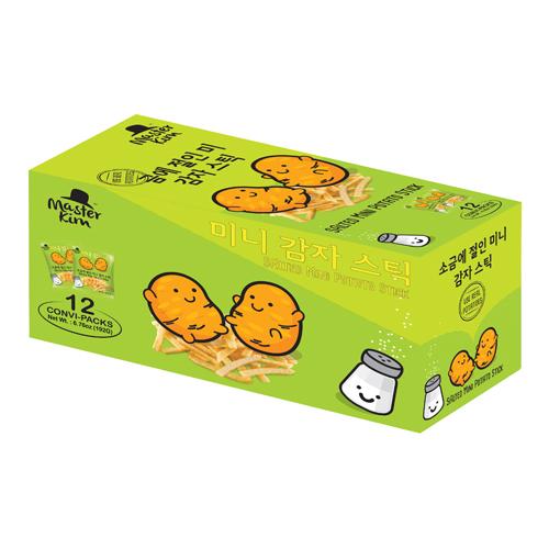 Mini Potato Stick (Box) - Salted