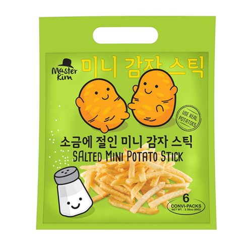 Mini Potato Stick (Outer Bag) - Salted