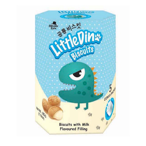 Little Dino Biscuits (85g) - Milk