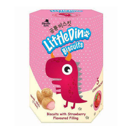 Little Dino Biscuits (85g) - Strawberry