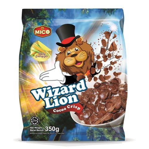 MICO Wizard Lion Cocoa Crisp (350g)