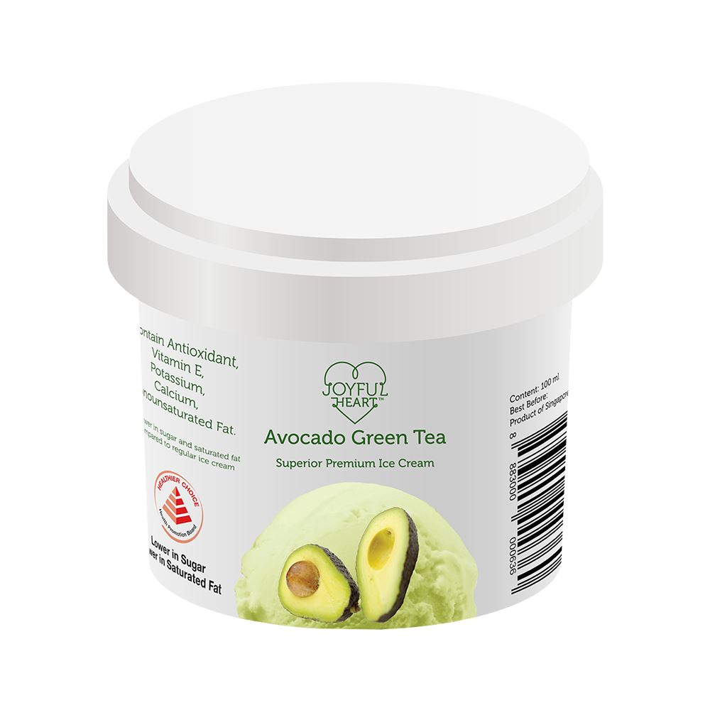 Avocado Green Tea Superior Premium Ice Cream