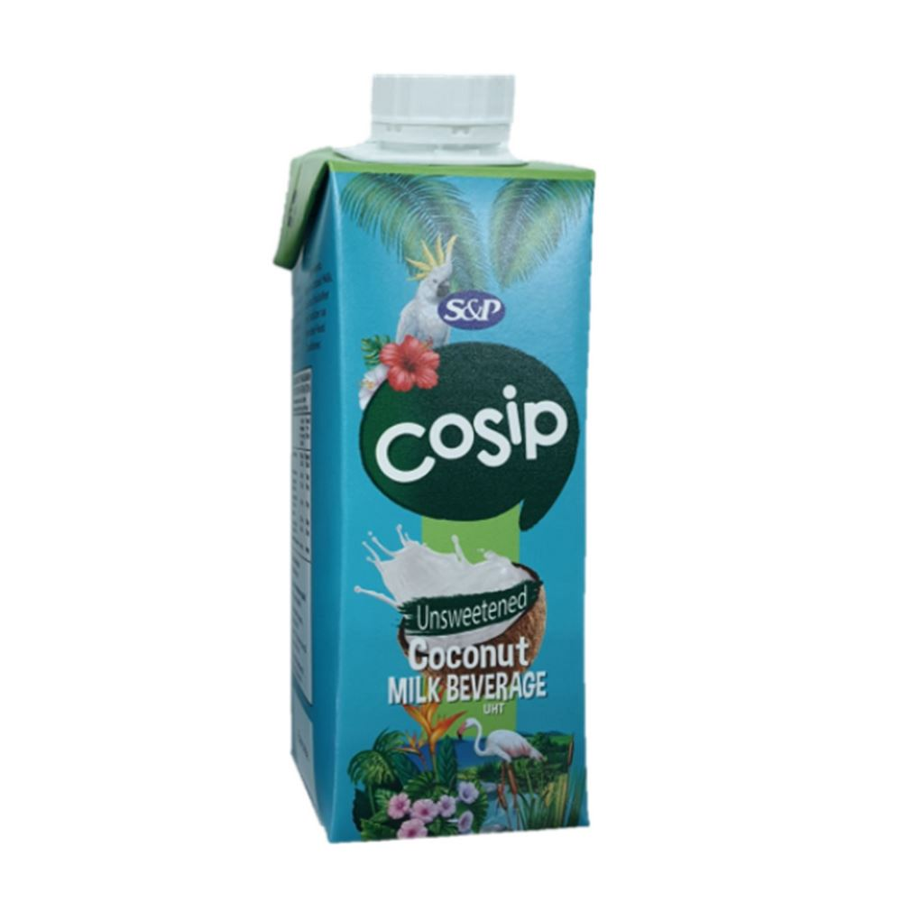 Cosip Coconut Milk Beverage Unsweetened 250ml