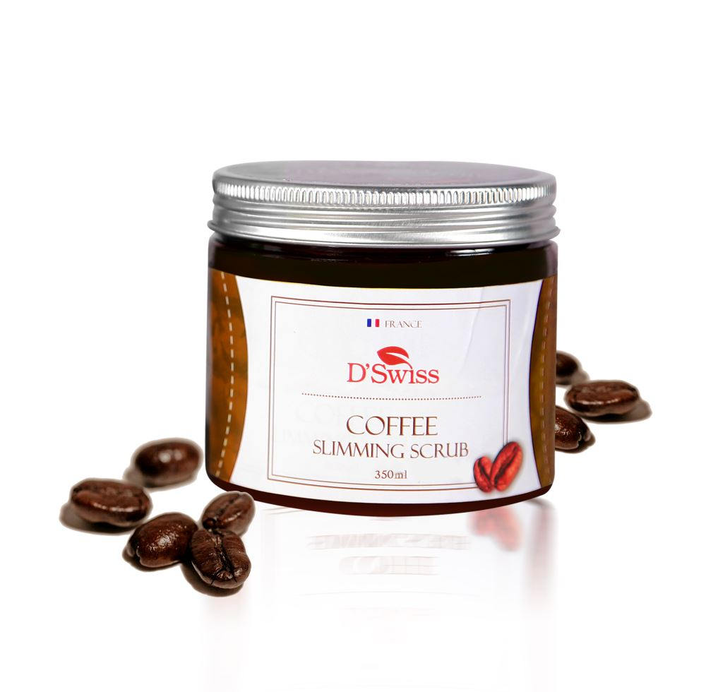 DSwiss Coffee Slimming Scrub