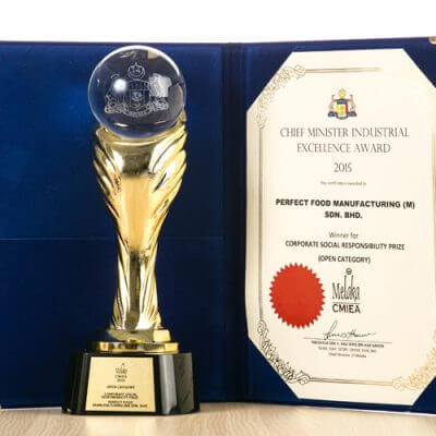 Chief Minister Industrial Excellence Award 2015