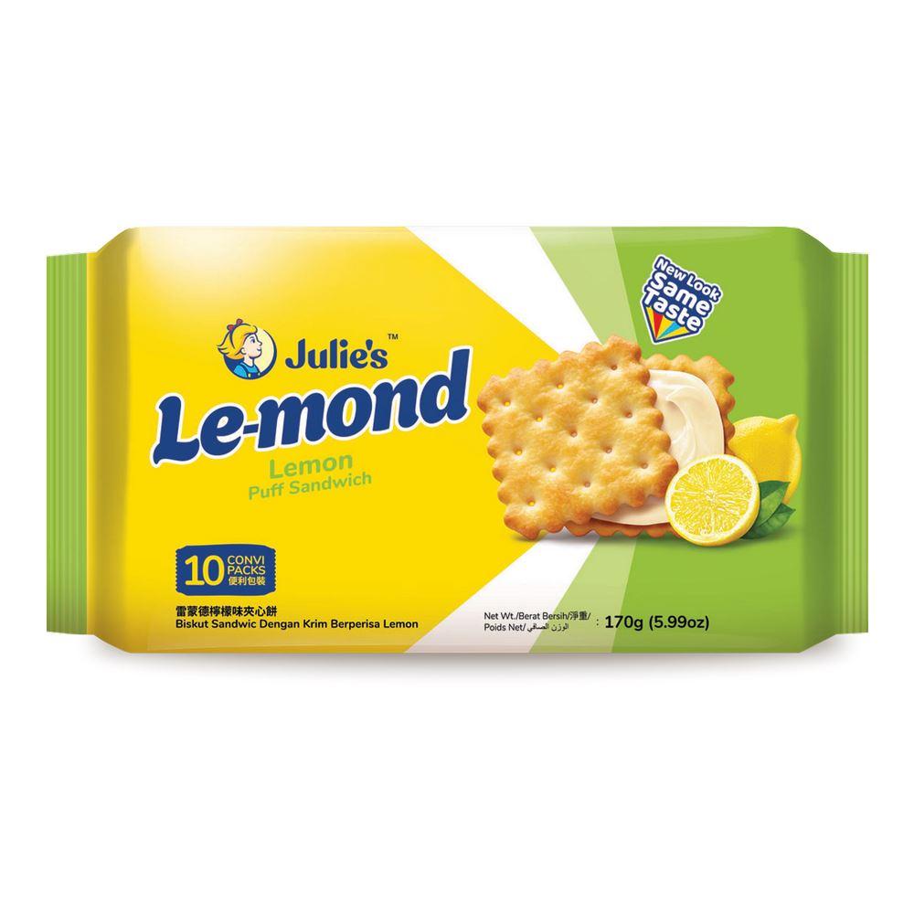 Le-Mond Puff Lemon Sandwich (10's) 170g
