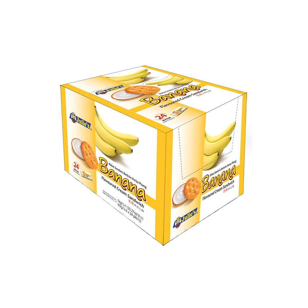 Banana Flv. Cream Sandwich 42g