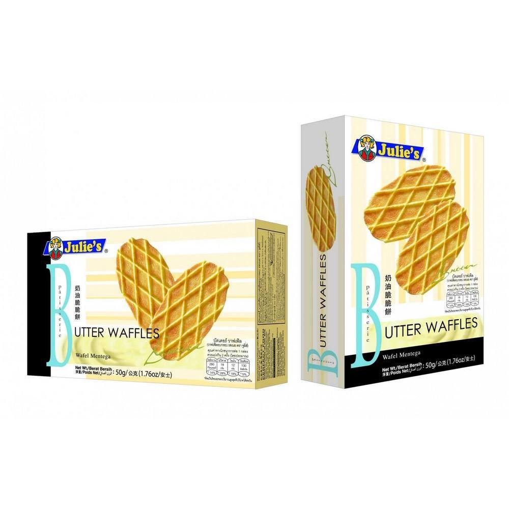 Butter Waffles 50g