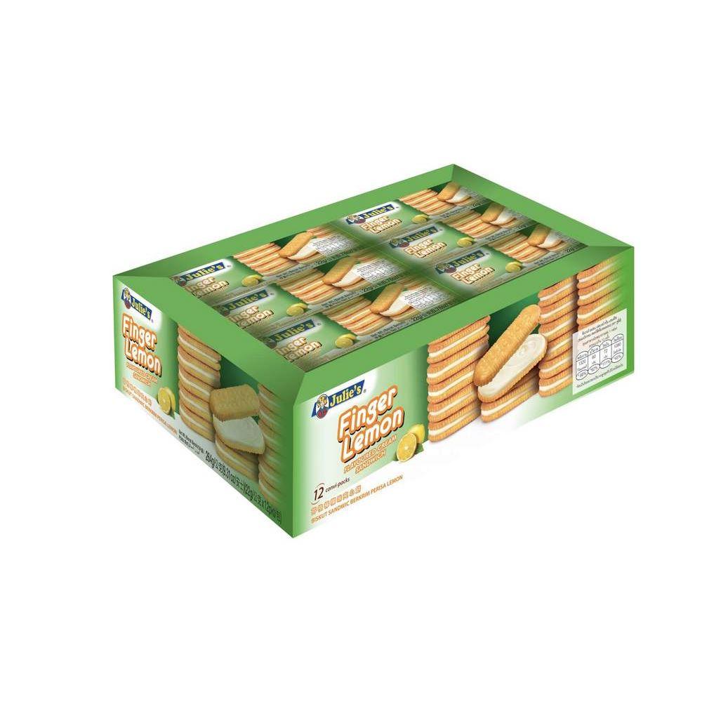 Finger Lemon Flavoured Cream Sandwich 22g