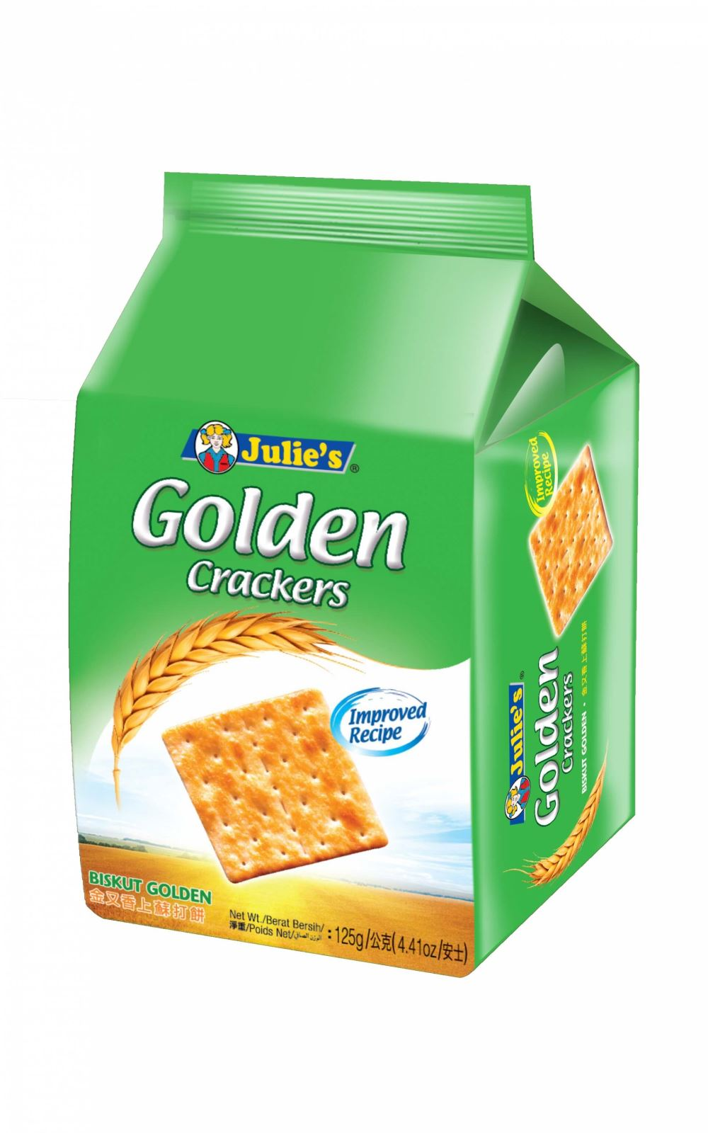Golden Crackers 125g