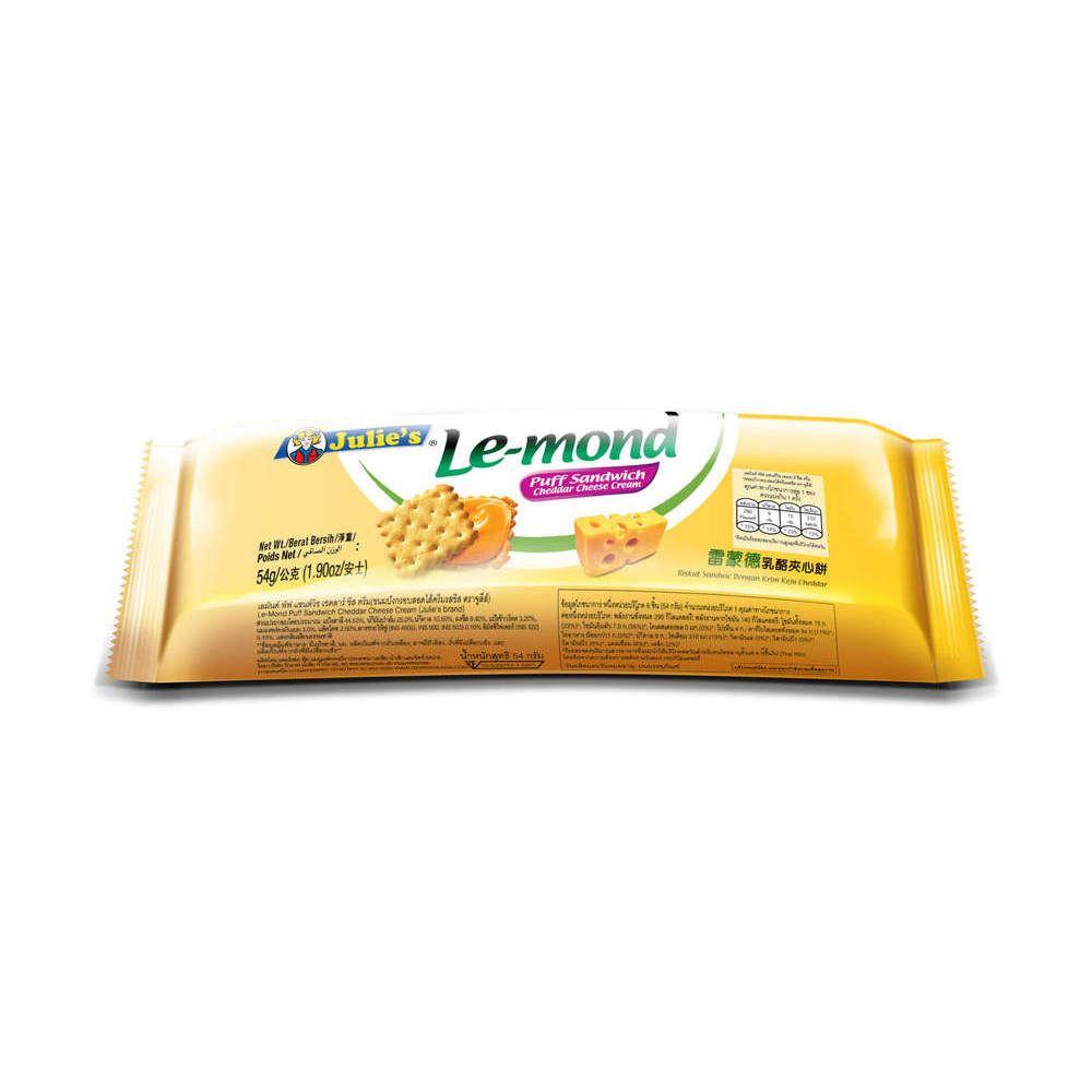 Le-Mond Puff Cheddar Cheese Sandwich 54g