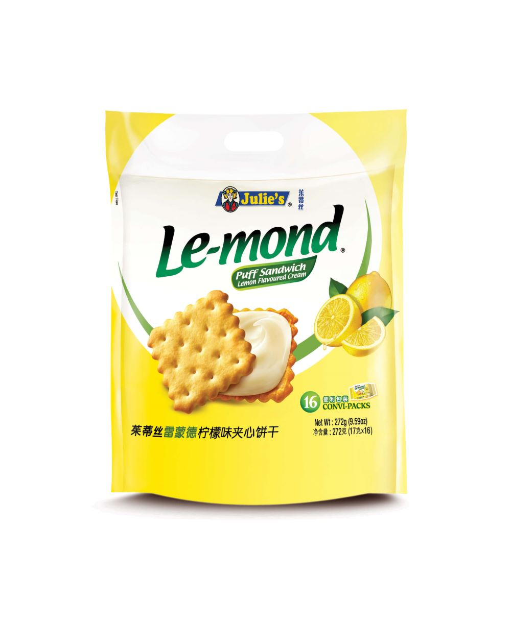 Le-Mond Puff Lemon Sandwich 272g