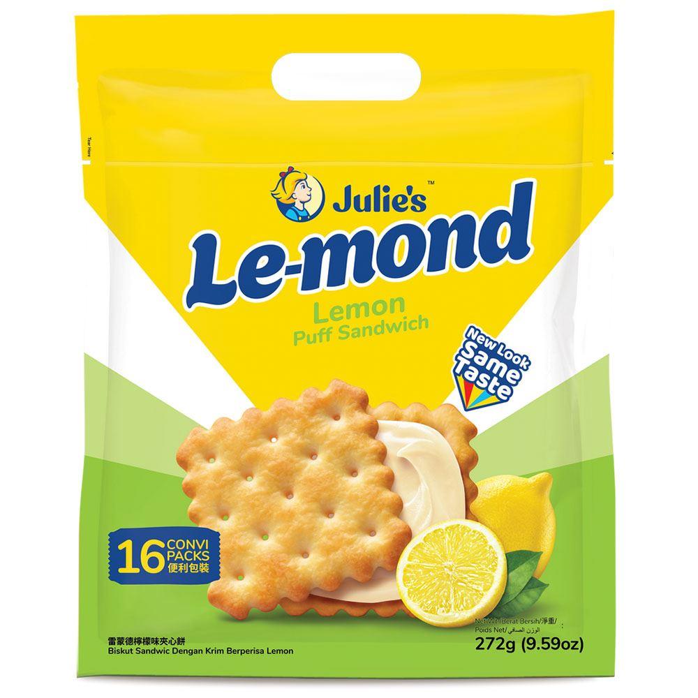 Le-Mond Puff Lemon Sandwich 272g