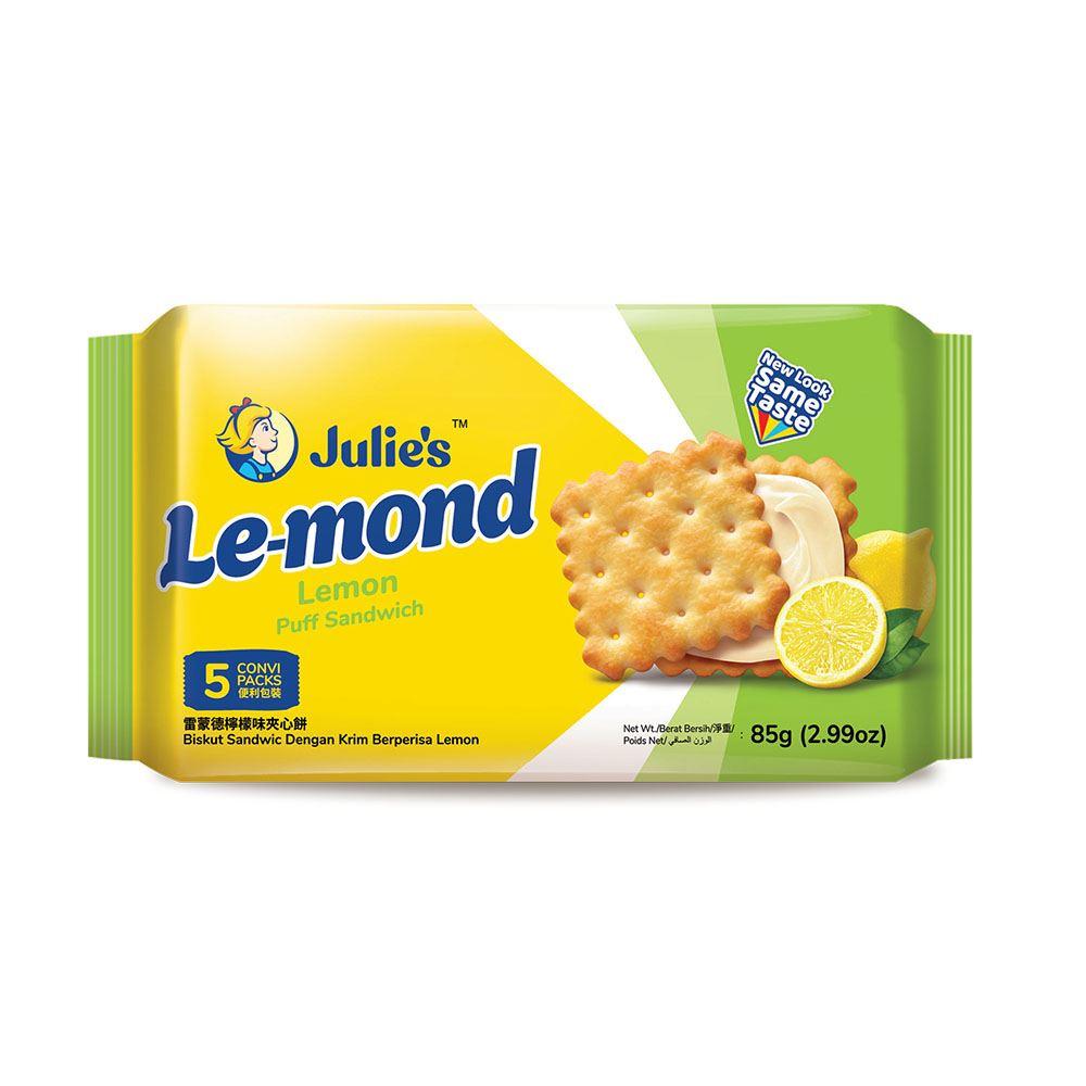 Le-Mond Puff Lemon Sandwich 85g