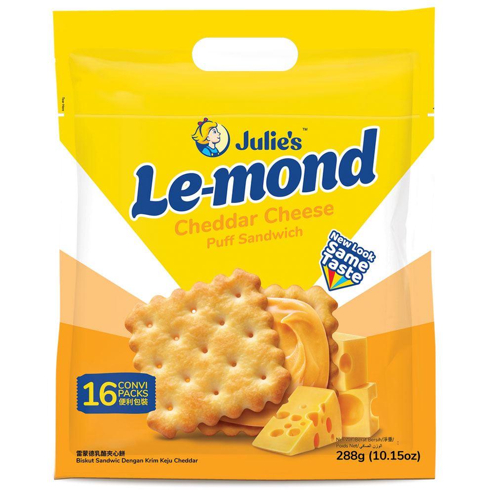 Le-Mond Puff Cheddar Cheese Sandwich 288g