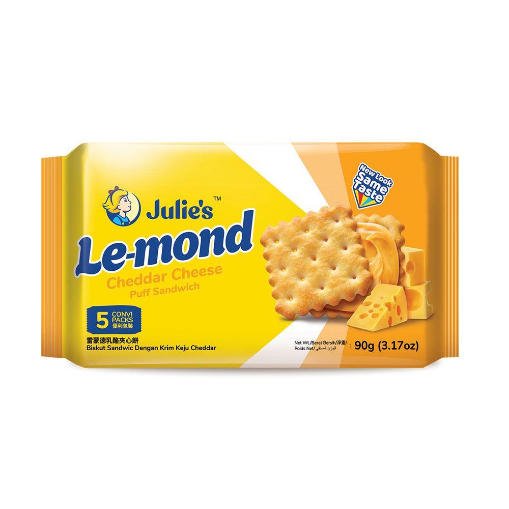 Le-Mond Puff Cheddar Cheese Sandwich 90g