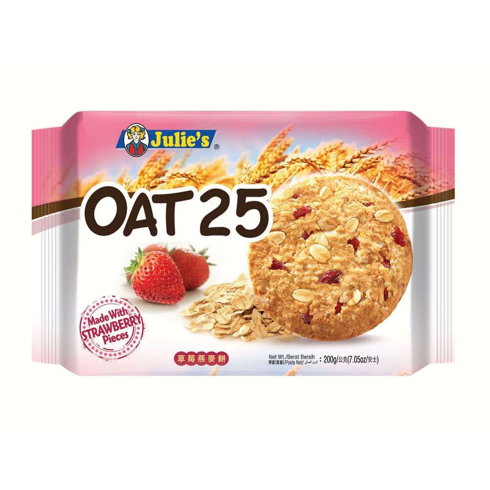 Oat 25 Strawberry 200g